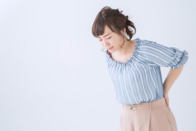 産後の腰痛の写真